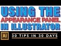 Using the Appearance Panel in Illustrator