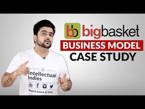 Big Basket Business Model | Case Study | How BigBasket Earns | Hindi
