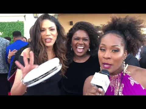 33rd Annual Stellar Awards: Merle Dandridge & Deborah Joy Winans