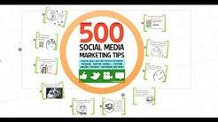 500 Social Media Marketing Tips Book Trailer 2013   Social Media Strategy Kindle EBook