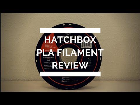 Hatchbox PLA Filament Review