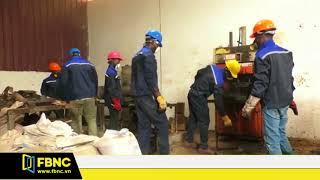 Nhựa được tái chế thành gạch lát đường ở Ghana | FBNC