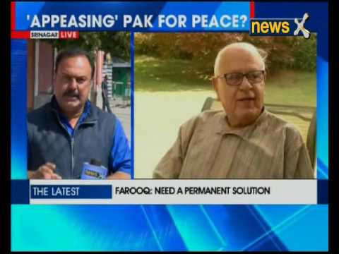 J&K: Need permanent solution, says NC president Farooq Abdullah in his press conference