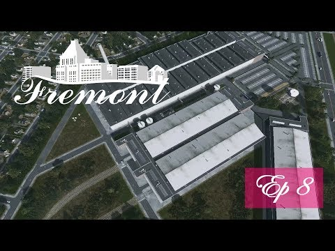 Cities Skylines: Fremont - Ep 8 - The Industrial Mill