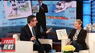 John Oliver Reveals Gay Bunny Tale 'Marlon Bundo' Has Sold Out | THR News