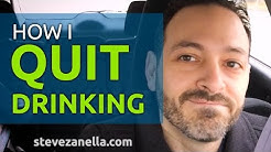Anxiety and Alcohol - How I Quit Drinking