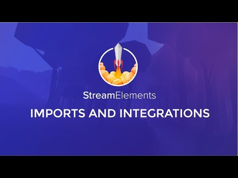 Import other platforms into StreamElements – StreamElements