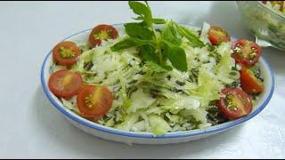Салат из Свежей Капусты ВКУСНОТИЩА НЕОБЫКНОВЕНАЯ Как Приготовить Вкусный Хрустящий Салат из Капусты