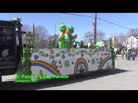 St. Patrick's Day Parade 2016 Lawrence MA
