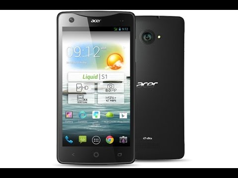 Acer Liquid S1 Hard Reset and Forgot Password Recovery, Factory Reset