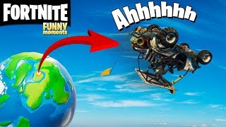 FORTNITE-Funny moments BUGs and best moments #01