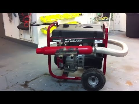 How to make your generator quiet,powermate generator