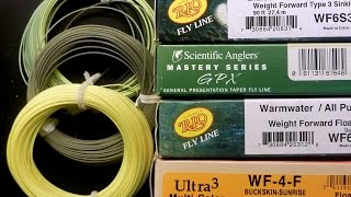 Fly Fishing - Choosing the Right Fly Line for You