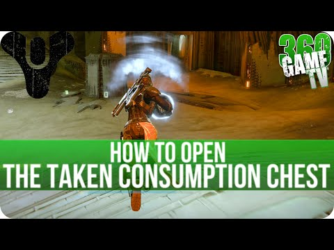 """Destiny How to open the """"Taken Consumption"""" Chest in Dreadnaught (Official Way) - The Taken King"""