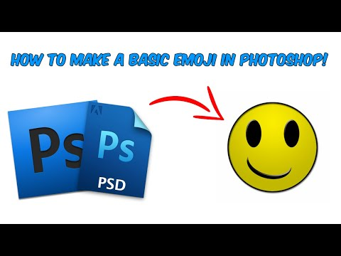 Basic Emoji - Adobe Photoshop Tutorial thumbnail