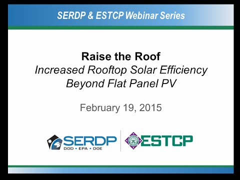 Raise the Roof: Increased Rooftop Solar Efficiency Beyond Flat Panel PV