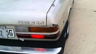 '86 BMW 524td