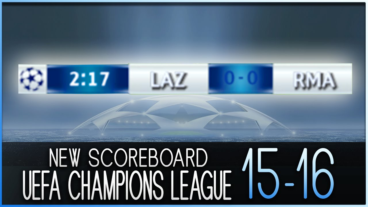 champions league scores for today