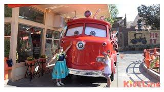 Cars Land Disney California Adventure Park KOYA and NEMI