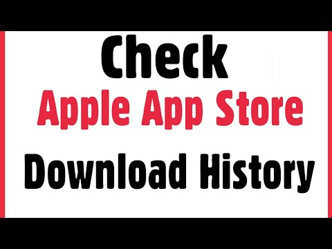 IPhone | How To Check App Store Downloading Application History