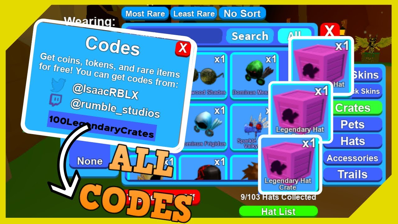 All 50 Codes In Mining Simulator July 2019 Youtube