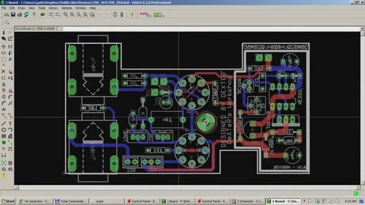 EAGLE CAD - How to copy multiple SCH / PCB in the same file - YouTube