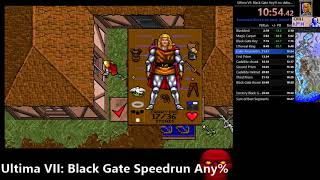Ultima VII: The Black Gate speedrun good ending (25m45s any% no debug room) WR
