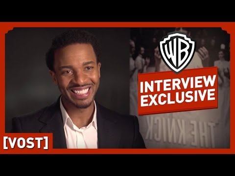 The Knick (Saison 1) - Interview Andre Holland - Clive Owen / Steven Soderbergh