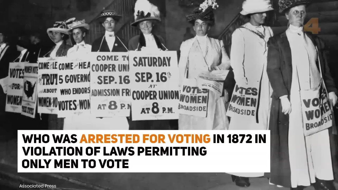 Trump Says He'll Pardon Susan B. Anthony, Arrested For Voting In ...