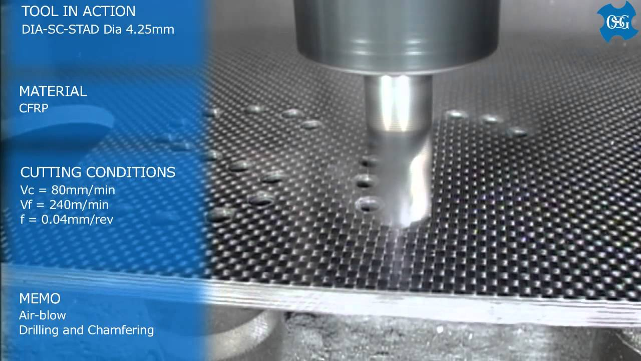 drill cfrp Lmt onsrud lp offers a drill for cfrp (carbon fiber-reinforced plastic) to prevent fraying and delamination drilling in cfrp can be difficult because three major considerations have to be addressed to successfully produce a clean cut: (1) hole quality, (2) hole diameter, and (3) drill life.