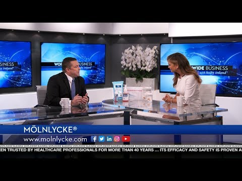 Mölnlycke® featured on Worldwide Business with kathy ireland®