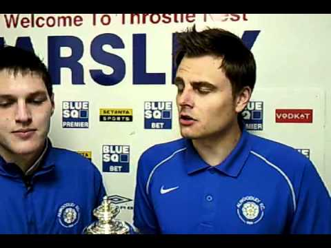 Interview with Andy Shaw & Scott Wood (Alwoodley FC)