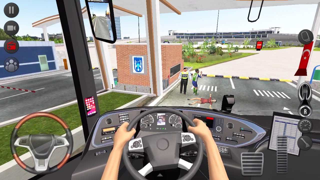 Long Road City Bus Driver 🚍👮🏻♂️ Bus Simulator : Ultimate Multiplayer! Bus Wheels Games Android 3D