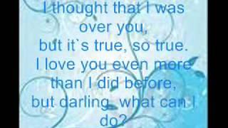 roy orbison cryin lyrics