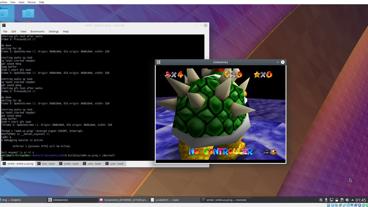 Someone is working on a native PC version of Super Mario 64
