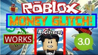 ROBLOX RO CITIZENS NEW UNLIMITED MONEY GLITCH!! WORKING MARCH 25!!
