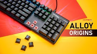HyperX Alloy Origins Review - Are These NEW Switches Worth It?