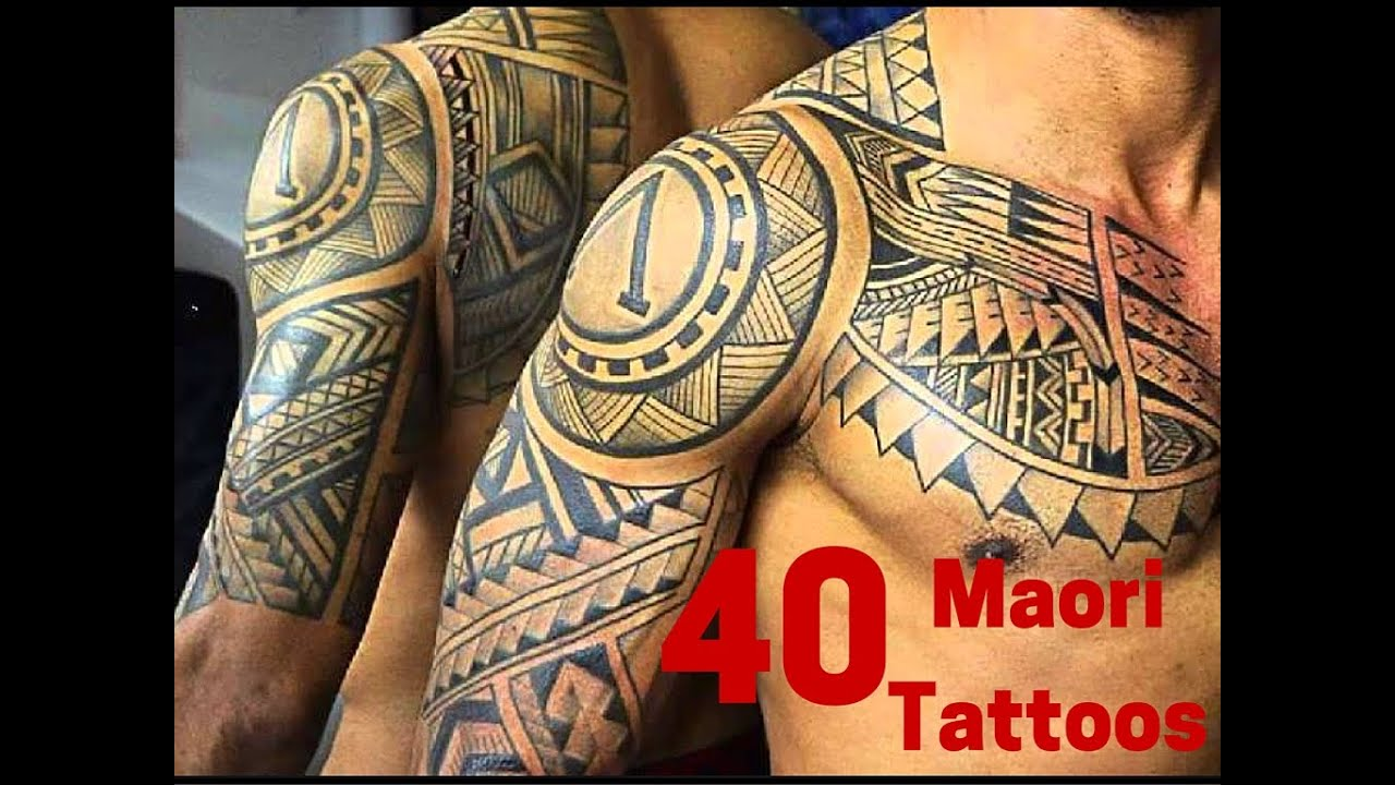 40 Powerful Maori Tattoos