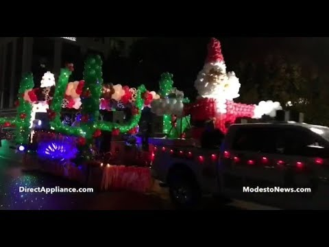 Modesto Christmas Parade 2019 The Celebration of Lights Parade in Modesto, CA   Full Christmas