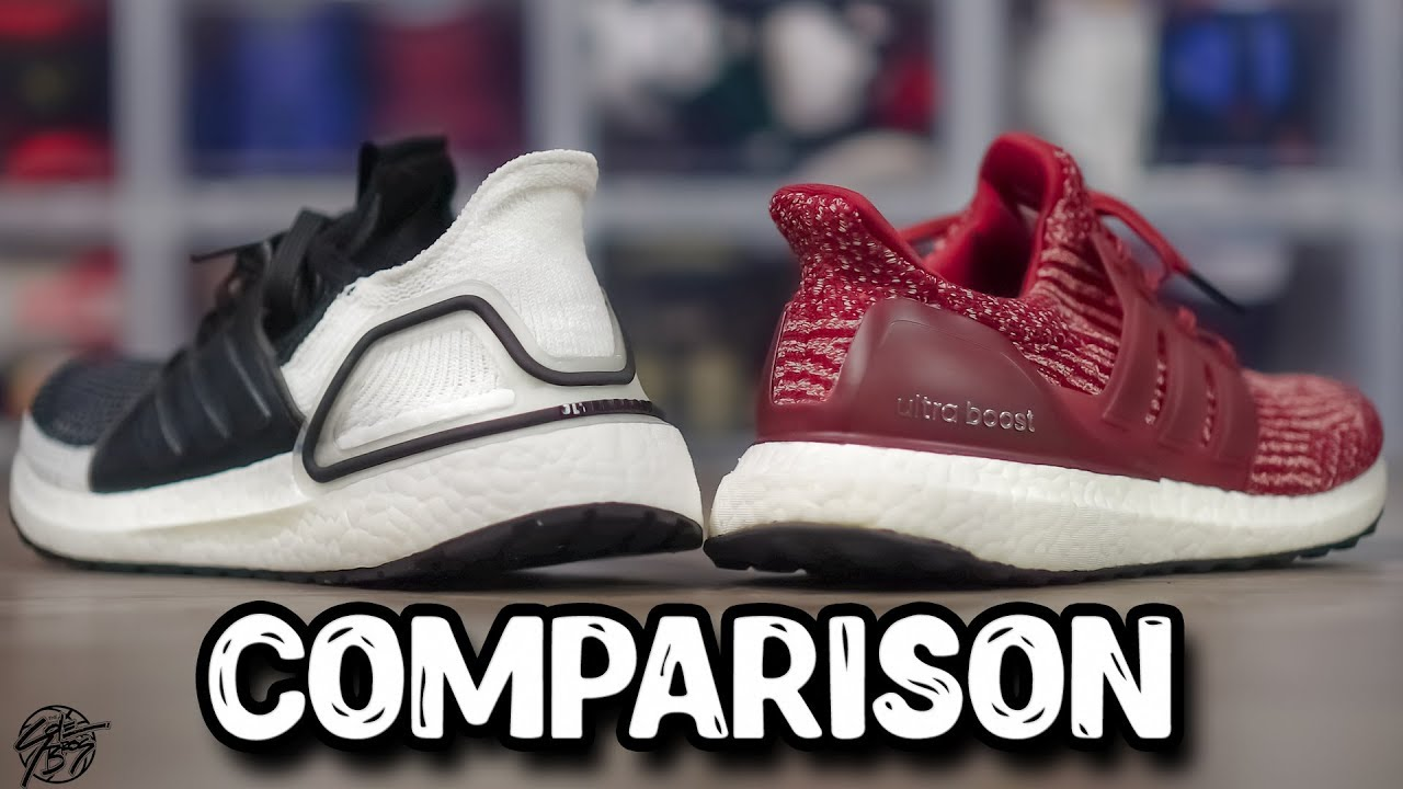 d3d658cc0f1 Adidas Ultraboost 19 & ORIGINAL Ultraboost Comparison!