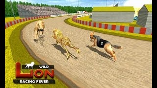 Wild Lion Racing Fever : Animal Race #1 | Lion Hunting Animals - Dishoomgameplay