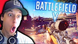*NEW* MASSIVE MULTIPLAYER!! (Battlefield V Open Beta Gameplay)