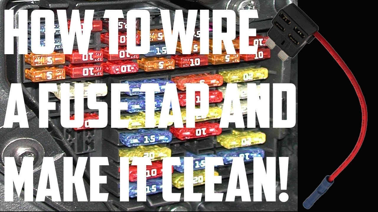 hight resolution of how to wire a fuse tap usb in a car