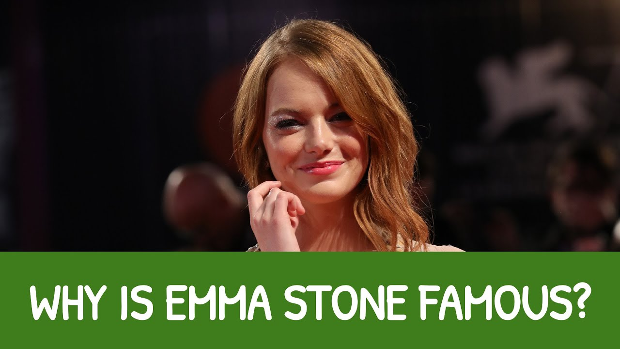 Is Emma Stone Related To Sharon Stone