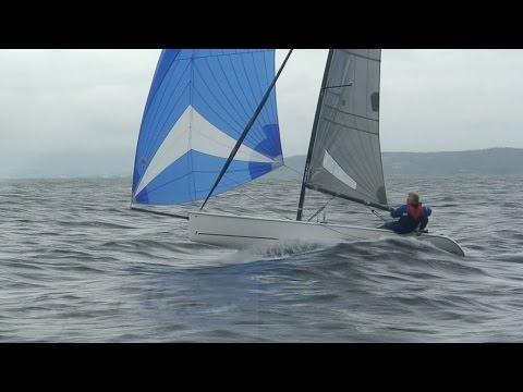 sailing K19, 2pax keelboat, with Jan Muren