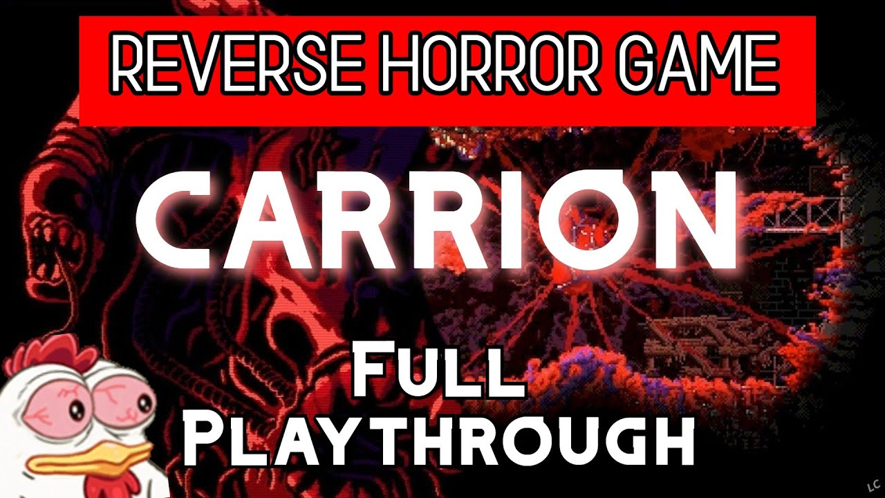 Carrion Full Playthrough Youtube