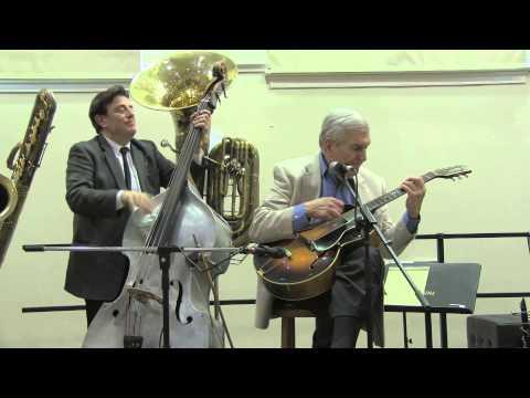 Marty Grosz live 5 - 4 - 2014 Tri-State Jazz Society