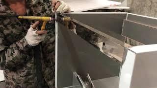 Making bathroom vanities process