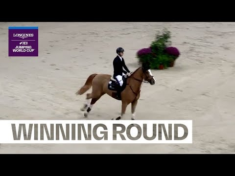 Winning Round: Pieter Devos with strong nerves in Stuttgart | Longines FEI Jumping Nations Cup™