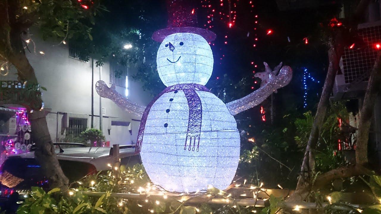 2014 12 15北投石牌聖誕巷 - YouTube